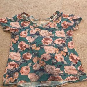 Cute slower shirt.